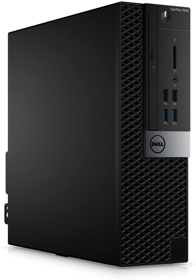 Dell Optiplex 7040 Business Desktop i7 i7-6700 8GB DDR4 256GB SSD Windows 10 Pro Small Form Factor SFF
