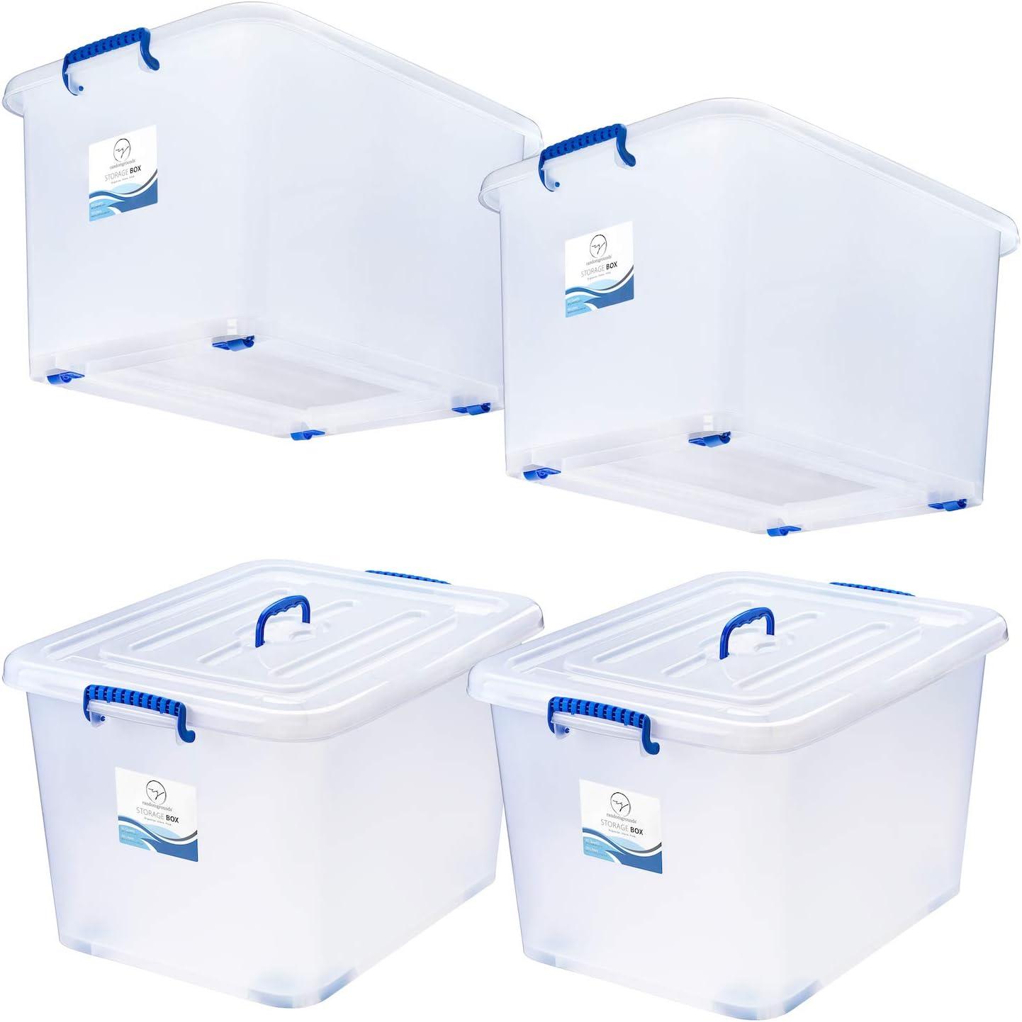 Large Clear Plastic Box