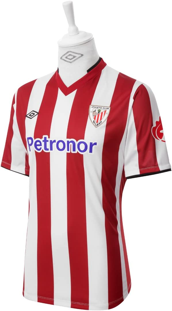 Athletic Club Bilbao 2012-2013 Home Jersey Red/White (Small ...