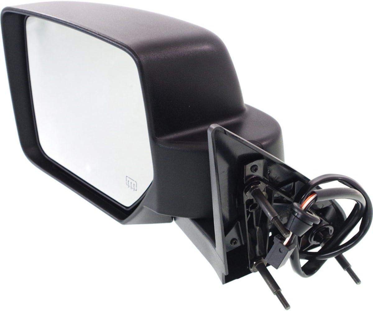 Espejo retrovisor izquierdo el/éctrico t/érmico negro a partir de 2003/al 2007