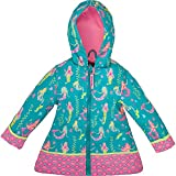 Stephen Joseph All Over Print Rain Coat, Mermaid,45