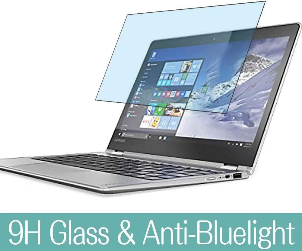 "Synvy Anti Blue Light Tempered Glass Screen Protector for Lenovo Yoga 710 2016 11.6"" Visible Area 9H Protective Screen Film Protectors"