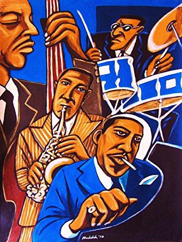 CHARLIE PARKER QUARTET PRINT POSTER cd lp record album vinyl Sax saxophone alto bebop max roach bud powell