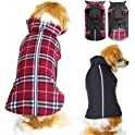 SuBleer Reversible Dog Jacket