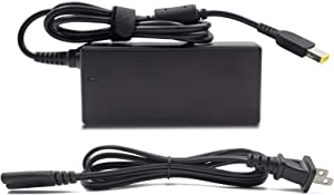 65W Laptop Charger 20V 3.25A AC/DC Adapter Chargers for Lenovo Z40 Z41 Z50 Z70 IdeaPad Flex 10 3 14 15 ThinkPad Edge E440 E450 E455 E460 ADLX65NCC3A 0B46994 with USB Square Connector Power Supply Cord