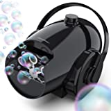 Hicober Automatic Bubble Machine for Kids, Portable Professional Bubble Machine for Parties, Bubble Blower Battery…