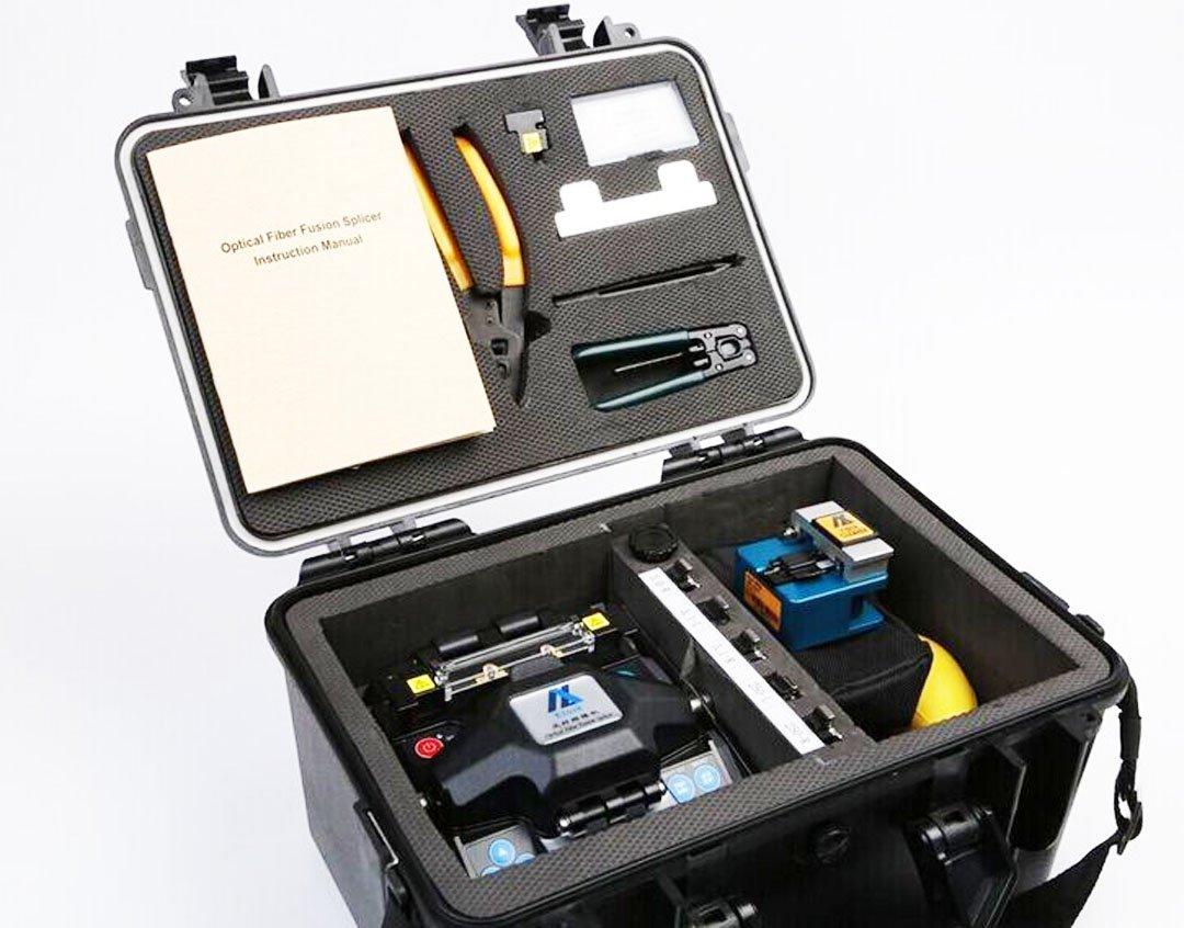 Amazon.com: Eloik ALK-88 Fiber Optic Splicing Machine Fusion Splicer ...