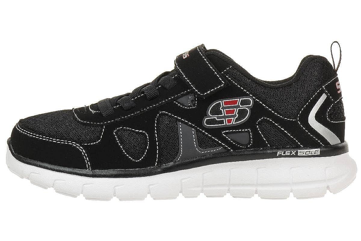 Zapatillas para niño, color Negro , marca SKECHERS, modelo Zapatillas Para Niño SKECHERS SPEED THRU Negro: Amazon.es: Zapatos y complementos
