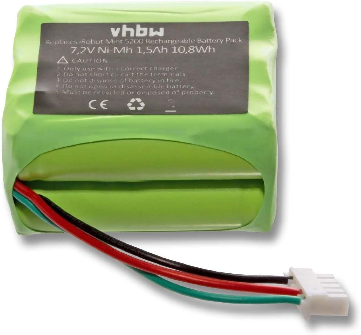 Hannets/® Batteria 2500/mAh per iRobot Braava 390/ /390t