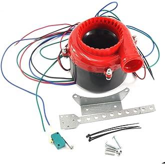 #15 Dengzhu coche Fake Válvula de descarga electrónico Turbo sonido analógico Blow Off Valve BOV