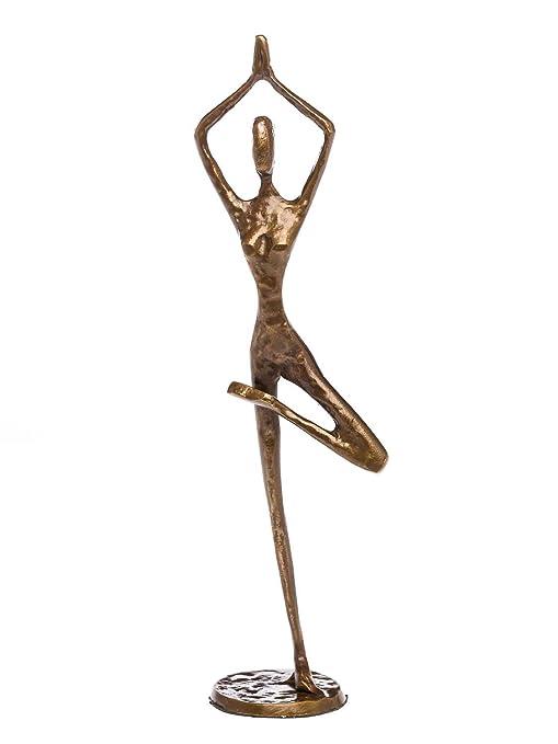 Escultura Yoga Yogi Antiguo Figura de Bronce de Estilo ...