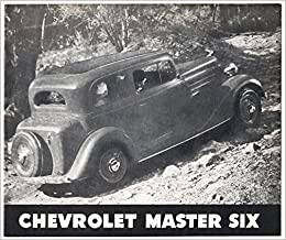1934 Chevrolet Master Six: Chevrolet Motor Company: Amazon com: Books