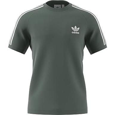 4062fb36e85d adidas 3 Stripes T-Shirt: Amazon.co.uk: Clothing