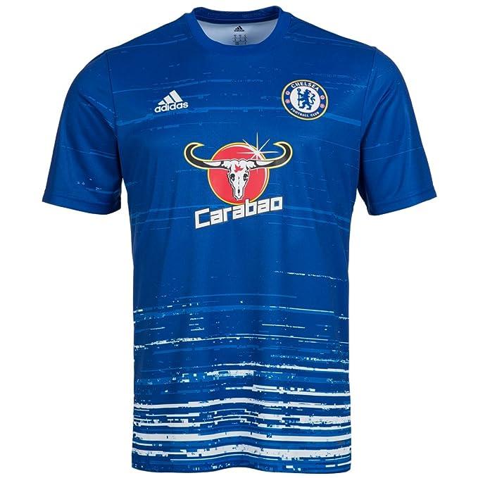 adidas FC Chelsea Pre Match Camiseta ax7012: Amazon.es: Deportes y ...