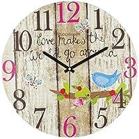 Clockmaker By Cadran 30x30 Mdf Duvar Saati