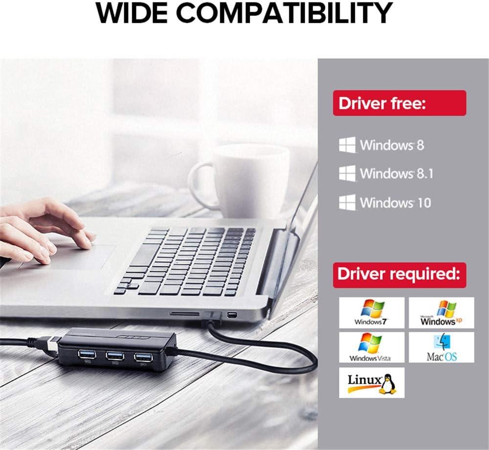 top Box Ethernet Adapter Network Card USB LAN s Android TV Set PINCHU USB Ethernet USB 3.0 to RJ45 HUB for Xiao mi mi Box 3