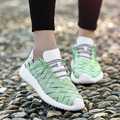 Casual Couples Shoes Sneakers Men Shoes Mens Outdoor Women Shoes HUAN 1 of Breathable Unisex Shoes Braided YqdE8Hx