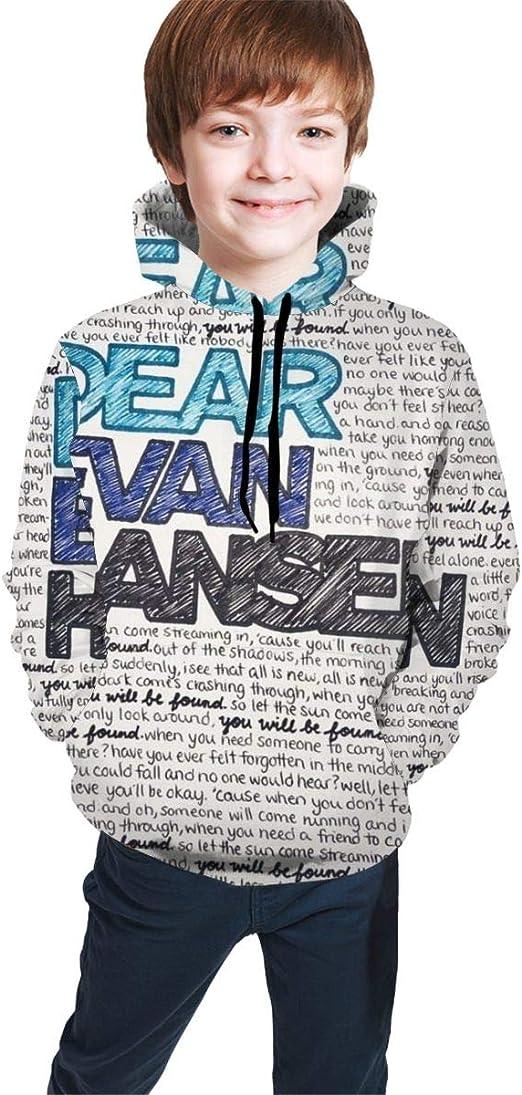 Youth Dear Evan-Han-sen Long Sleeves Shirt Boys Girls