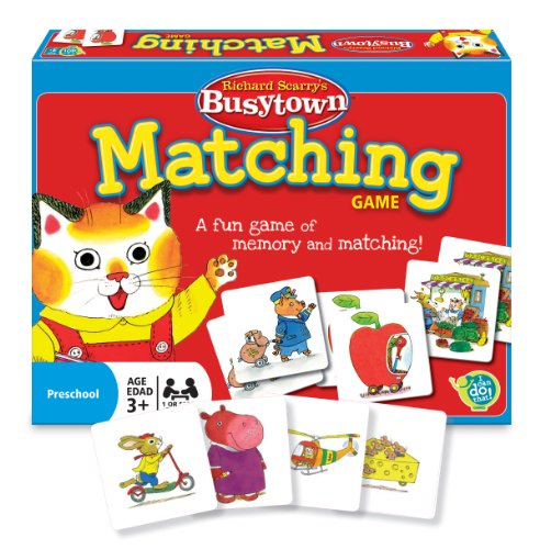 The Wonder Forge Richard Scarry Matching Game
