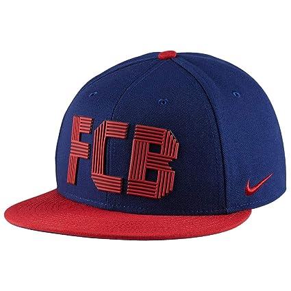 Nike FCB U Nk Cap Squad Gorra FC Barcelona, Hombre, Azul (Loyal Blue