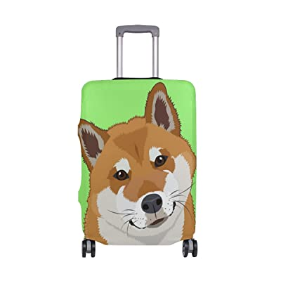ALAZA Animal Paw Print Travel Luggage Cover Suitcase Cover Case