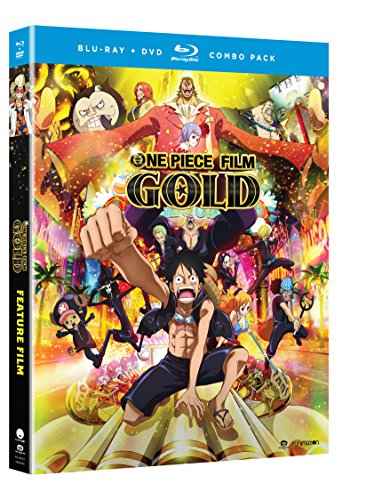 One Piece Film: Gold Movie (Blu-ray/DVD Combo)