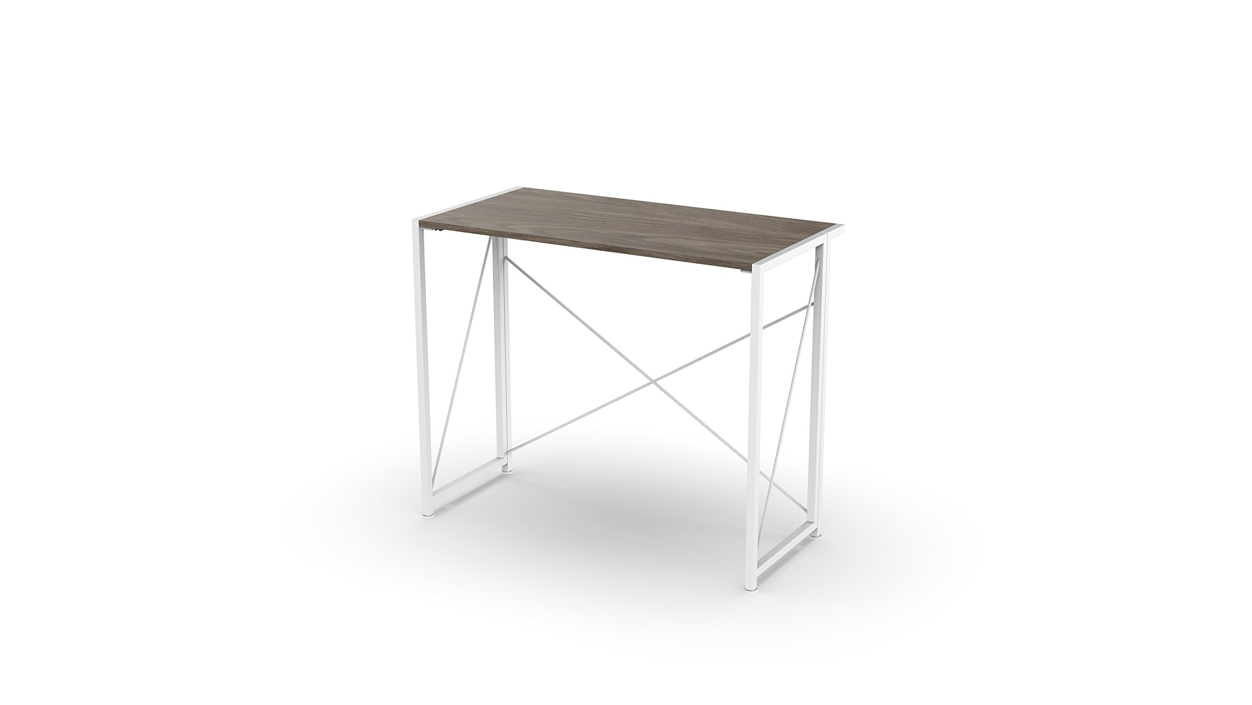 Urban Shop NK657279 Wood Folding Desk, White