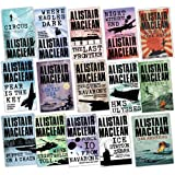 Alistair Maclean 15 Books Collection Pack Set (The Lonely Sea, South By Java Head, San Andreas, The Guns Of Navarone, Fear Is The Key, H.M.S Ulysses, Force 10 From Navarone, Night Without End, PARTISANS, Where Eagles Dare, The Last Frontier, Puppet On A C
