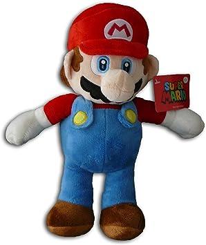 Super Mario Bros - Peluche Mario 33cm Calidad super soft: Amazon.es: Juguetes y juegos