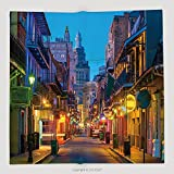 Custom Pubs And Bars With Neon Lights In The French Quarter New Orleans Usa 538251463 Soft Fleece Throw Blanket