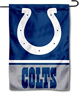 WinCraft Indianapolis Colts Double Sided Garden Flag