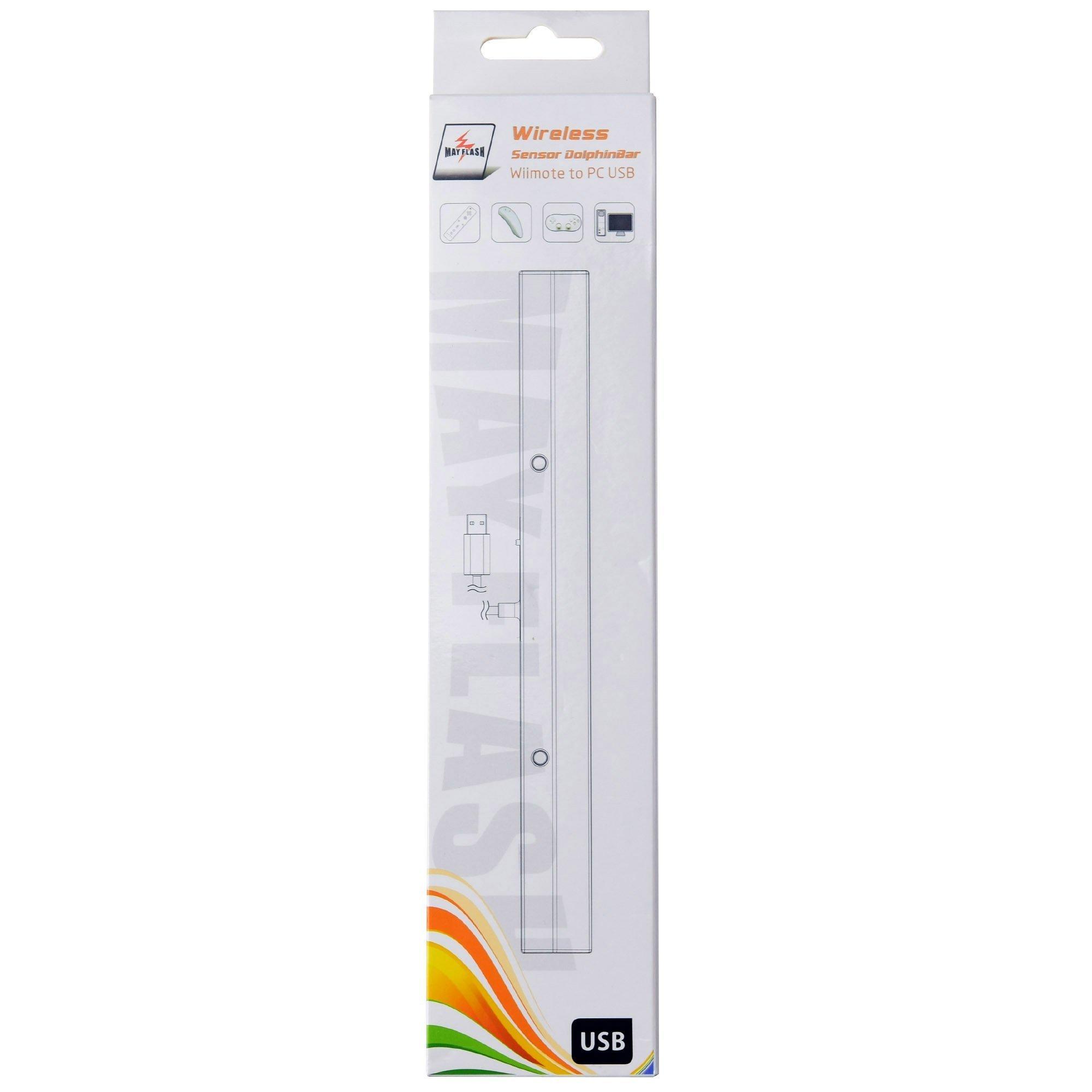 Mayflash W010 Wireless Sensor DolphinBar for Wii