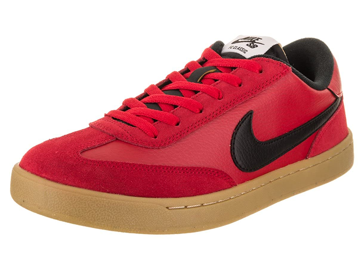 NIKE Uomo SB FC Classic Skate Shoe 8.5 US università Rosso/Nero / Bianco 7.5 UK Variation