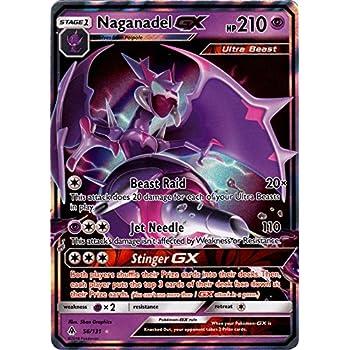 Naganadel GX - 56/131 - Ultra Rare - Forbidden Light