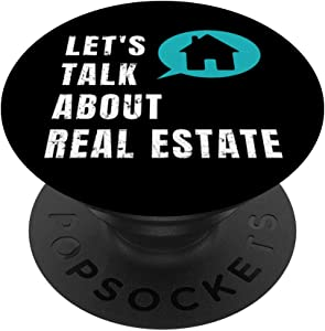 Let's Talk About Real Estate - Real Estate Agent Gift