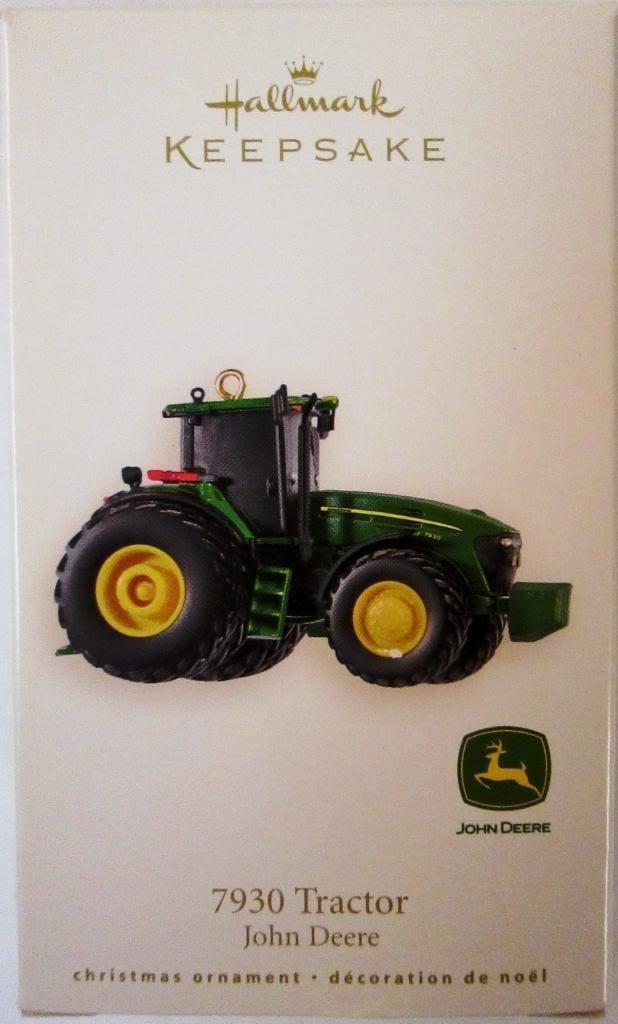 Amazon.com: 7930 Tractor 2008 Hallmark Keepsake Ornament: Home & Kitchen