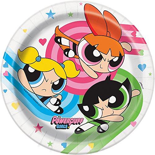 Powerpuff Girls Dessert Plates,