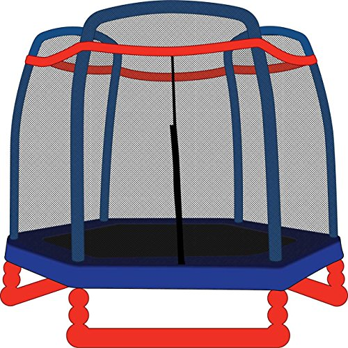 7' Round Trampoline Weather Cover Sporting Goods Jumping