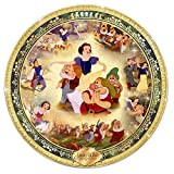Disney Snow White And The Seven Dwarfs Collector 12-Inch Diameter Plate by The Bradford Exchange