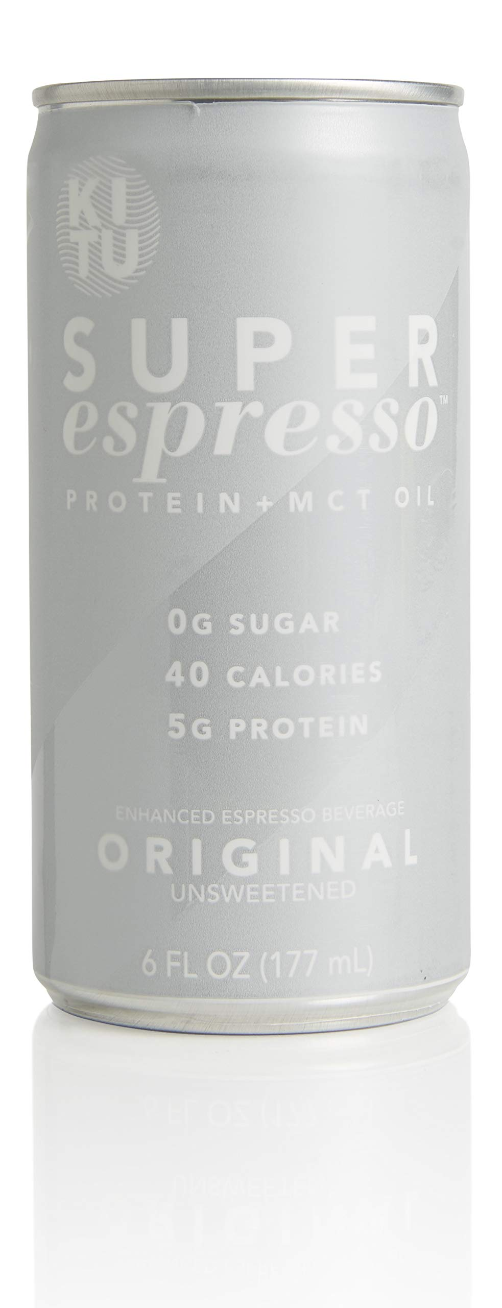 Kitu by SUNNIVA Original Super Espresso with Protein and MCT Oil, Keto Approved, 0g Sugar, 5g Protein, 40 Calories, 6 fl. oz, Pack of 12 by SUNNIVA SUPER COFFEE (Image #2)