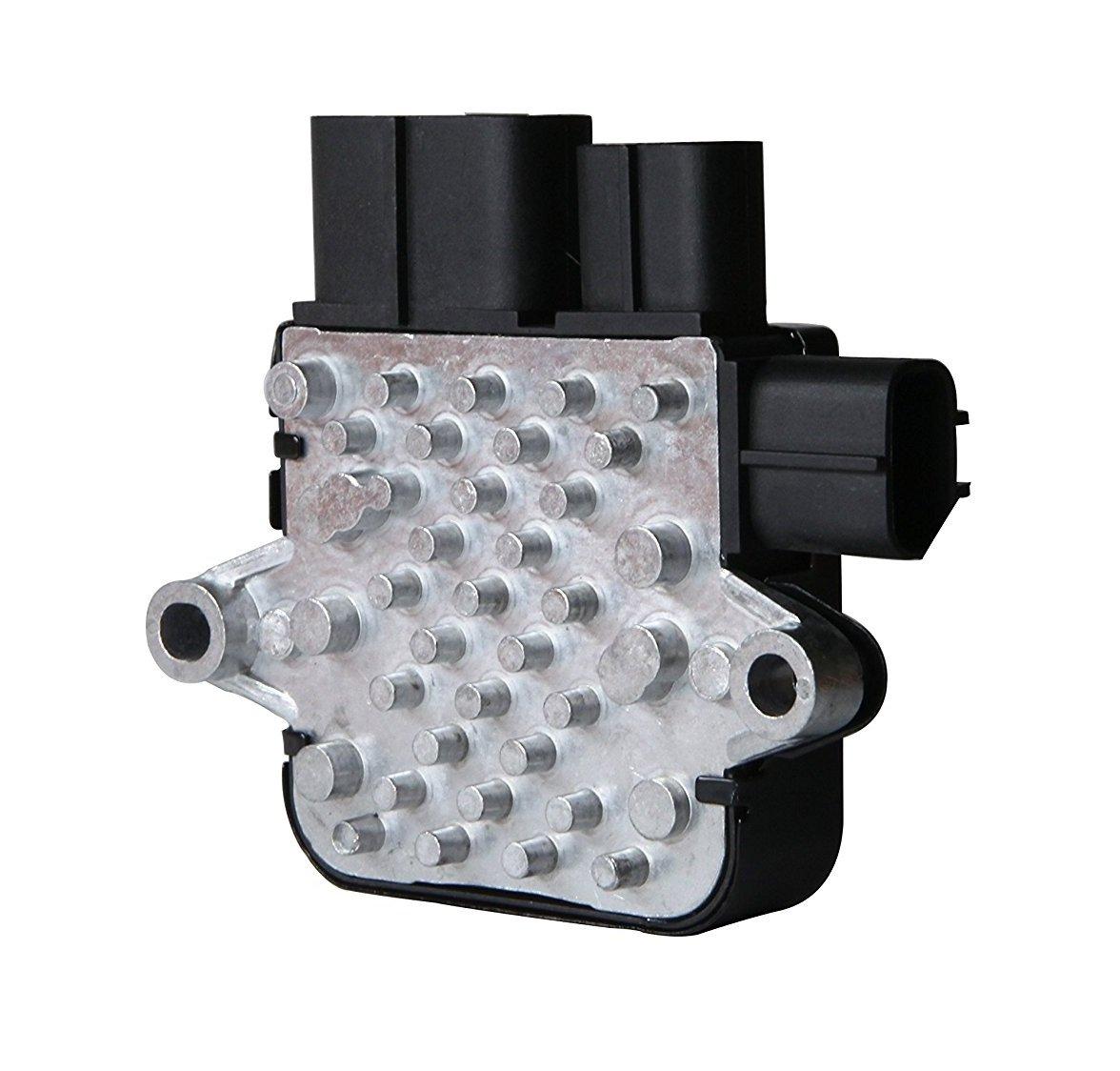 HVAC Blower Motor Resistor G018R Radiator Cooling Fan Control Unit Module for Mitsubishi Outlander Lancer (Non-Turbo) Mazda 6 MPV(Replaces# 1C23219700, AJY215SC0, AJ511515YA) GOHAWKTEQ