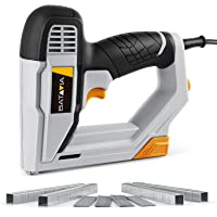 Brad Nailer, BATAVIA 2 in 1 Electric Nail Gun/Staple Gun for Home Upholstery Carpentry and Woodworking Projects…