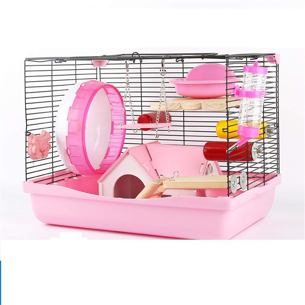 B CSWO Hamster Foundation Cage Hamster Big Cage Wire Mesh Villa 47 Base
