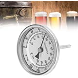 """Yosooo, Kit de Termómetro de Cerveza/Vino, Bi-Metal Homebrew Hervidor 1/2"""" MNPT 0~220F"""