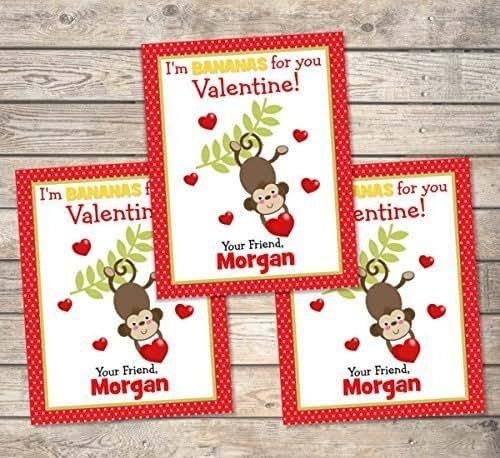 Amazon.com: Kids Valentine Cards, Personalized Valentine