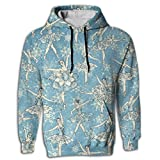 Ballet Digital Print Oversized Long Sleeve Men Hoodie Pocket Sportswear For Juniors Gymnast