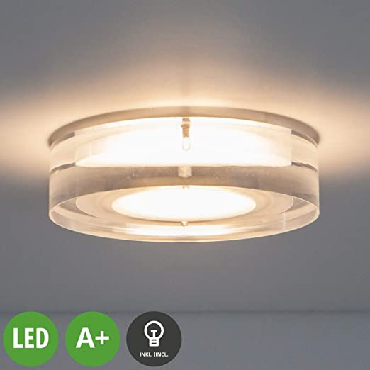 LED Spot encastrable \'Sara\' (Moderne) en Transparent e. a. ...