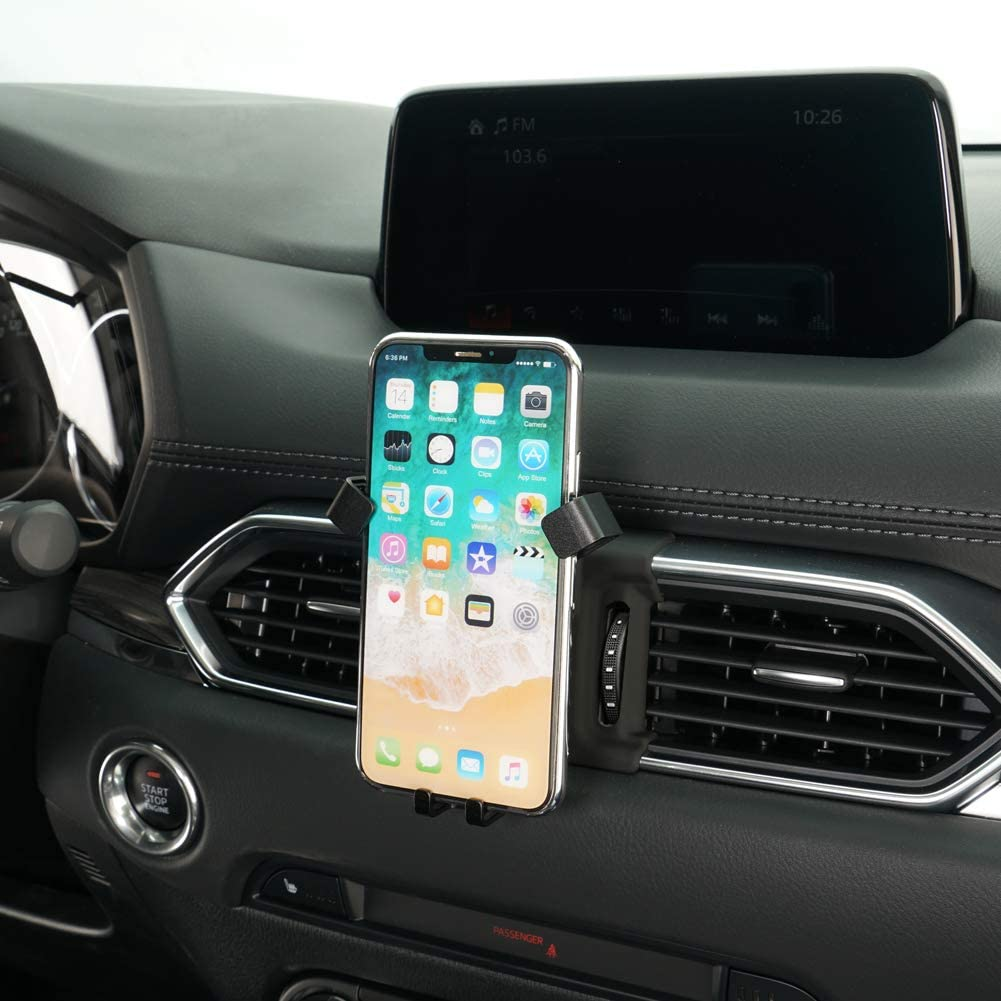 Beerte Phone Holder fit for Mazda CX-5 2017 2018 2019,Adjustable Air Vent,Car Dashboard Cell Phone Mount,Magnetic Phone Mount fit for Any inches iPhone Samsung Smartphone