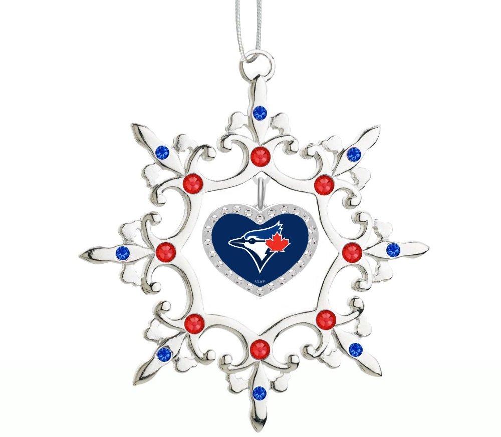 Toronto blue jays christmas ornament - Amazon Com Atlanta Braves Christmas Tree Ornament Sports Outdoors