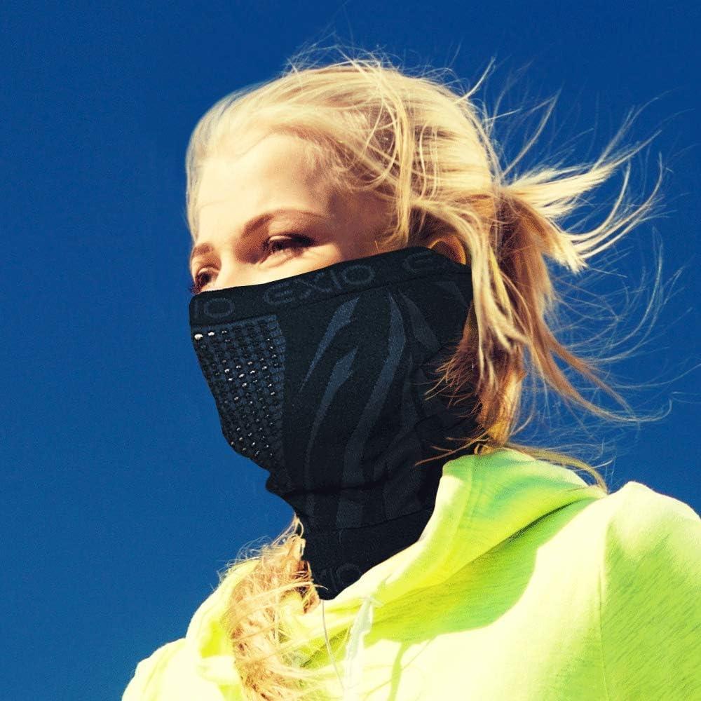 N////A Bandeau,Cache-Cou,Demi Cagoule,/Écharpe,Crossfit Hommes Et Femmes Face Cover Tough Headwear pour Cyclisme Moto Ski Snowboard par Temps Froid